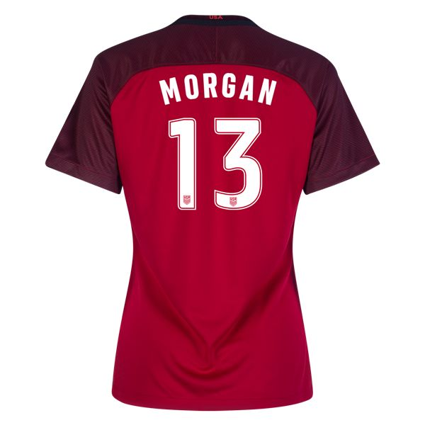 Nike Alex Morgan USA Womens Third Jersey 2017