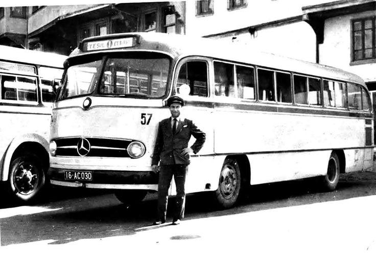 Yeşil - Çekirge belediye otobüsü  #Bursa #EskiBursa