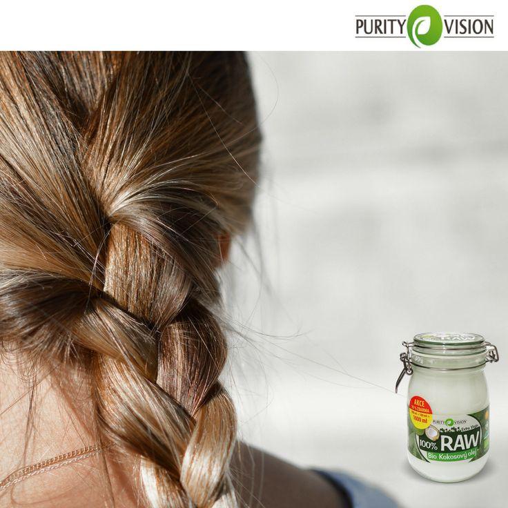 7+1 tipů na krásne vlasy s kokosovým olejem