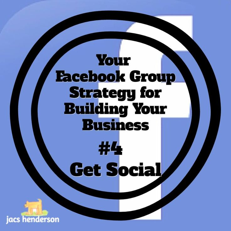 💙 FACEBOOK GROUP STRATEGY #4 ~ Get Social  In this context, I mean which social media platforms are you working on and which do you have profiles set up for?  For the purposes of The 6SSS strategy we use our Facebook community as our business hub and then share that content out into our social circles... See more