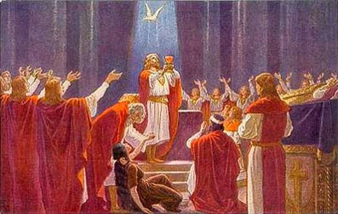 miracle the grail quest Distinguishes this grail quest from its predecessors is its highly charged   excluding all women from the grail quest with its eucharistic visions and miracles , the.