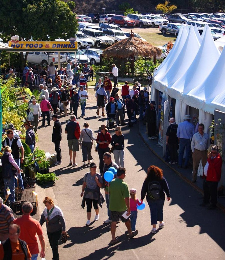 The great atmosphere around the QLD Garden Expo 2011