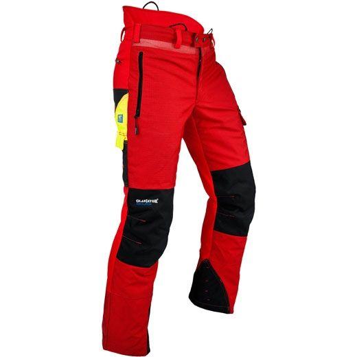 TreeStuff - Pfanner Gladiator Red Chainsaw Pants