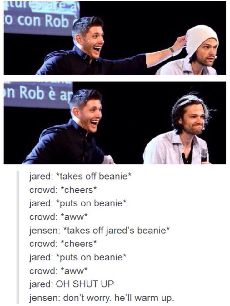 Twitter / FYeahSPN: Jensen Ackles and @Jarpad ladies ...