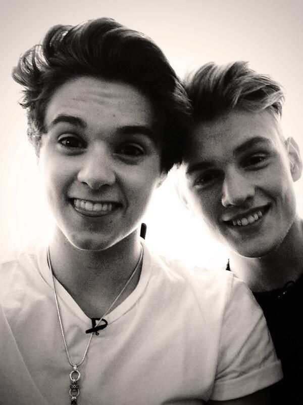 Bradley Simpson and Tristan Evans