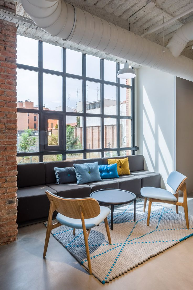 Jump Studios Completes Google Campus In Madrid Factory Meeting Collaborative