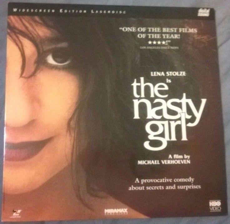 The Nasty Girl Laserdisc Michael Verhoeven '90 Lena Stolze Hans Rheinhard Müller | eBay