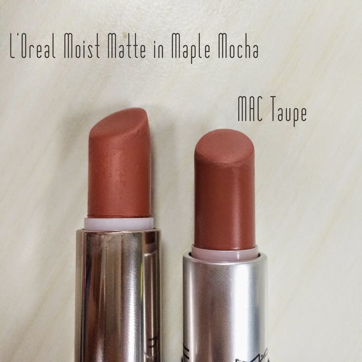 A dupe for MAC lipstick taupe. Thank you for saving me like 12 dollars ;) #MACdupes #MAC #lipstickdupes