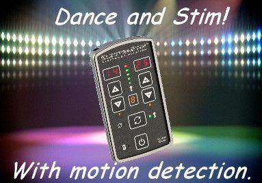 Party ESTIM unit. With motion detection!