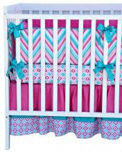 Lila Crib Bedding Set if baby 2 is a girl