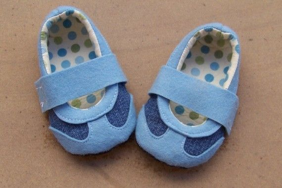 {no tutorial - photo only} baby shoes inspirational photo #sewing