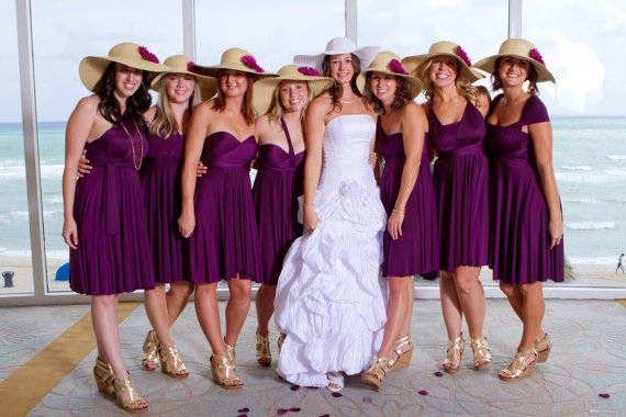 Look Like A Model: Abito da Damigelle d'onore: tanti colori e modelli di tendenze per il matrimonio del 2014 ( FOTO)