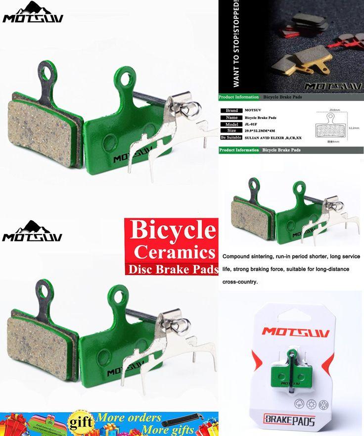[Visit to Buy] Bicycle Ceramics Disc Brake Pads For MTB M985, M988, Deore XT M785, SLX M666, M675, Deore M615, Alfine S700 Ceramics Brake Pads #Advertisement