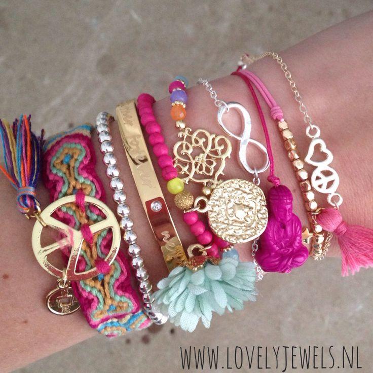Peace up! Bracelets , Ibiza look , summerfeelings