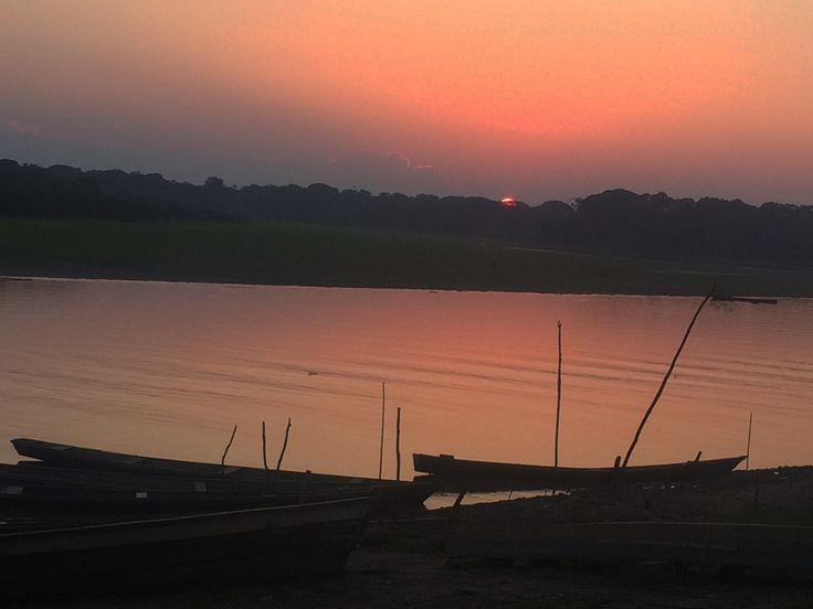 Pto Nariño. #Atardecer #Amazonas #Colombia