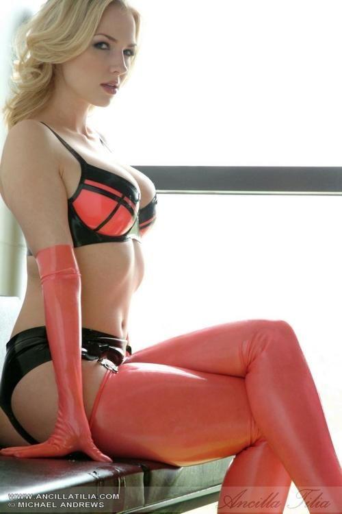 latexpics: Model Ancilla Tilia [ web · twitter · deviantart... | Latex,  leather and rubber Clothes