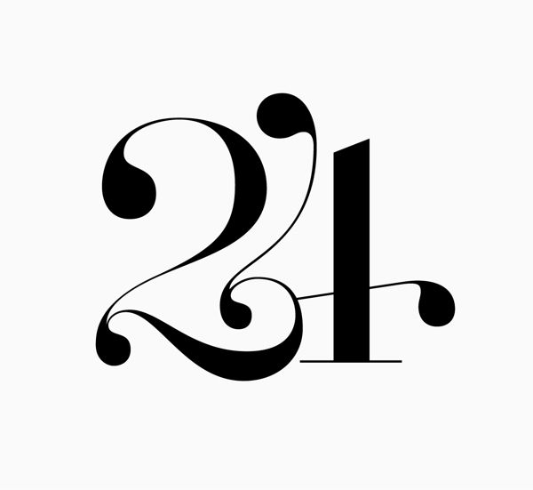 24: 24 Logos, Numbers Typography, Christmas Design Graphics, Christmas Typography, Logos Inspiration, Graphics Design, Numbers Calligraphy, Typography Numbers, Ajándék Terminator