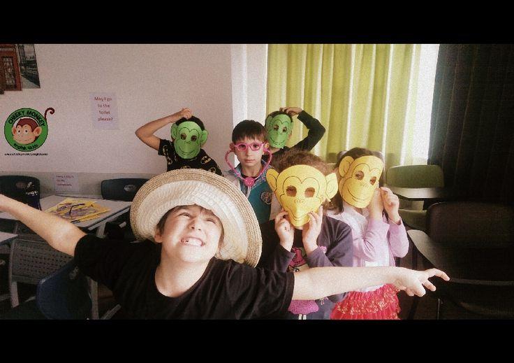 6 Little Monkeys - We love you Cheeky Monkey #CME4K