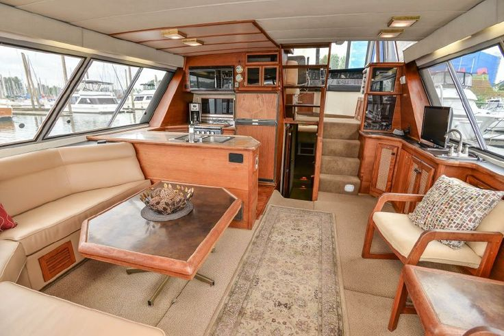 1986 Bayliner 4550 Pilothouse Power Boat For Sale - www.yachtworld.com