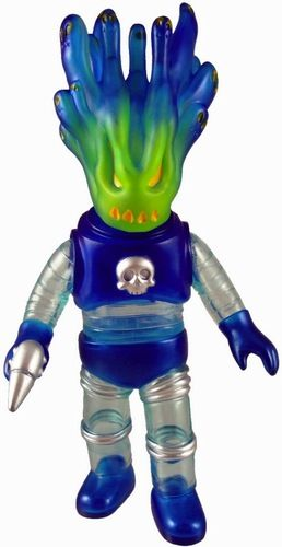 'Clear Blue Space Trooper' by Toygraph and produced by Super7