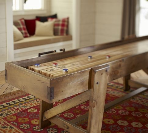 Pottery Barn Shuffleboard Table | Pottery Barn