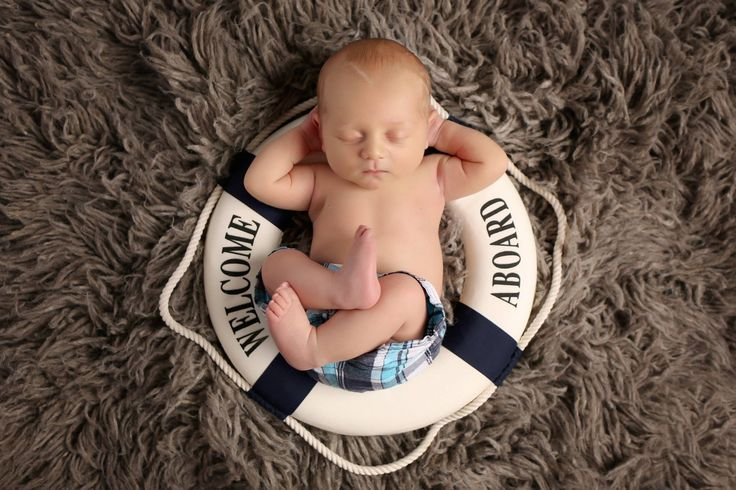 Nautical Newborn Photography! Welcome Aboard, little one <3