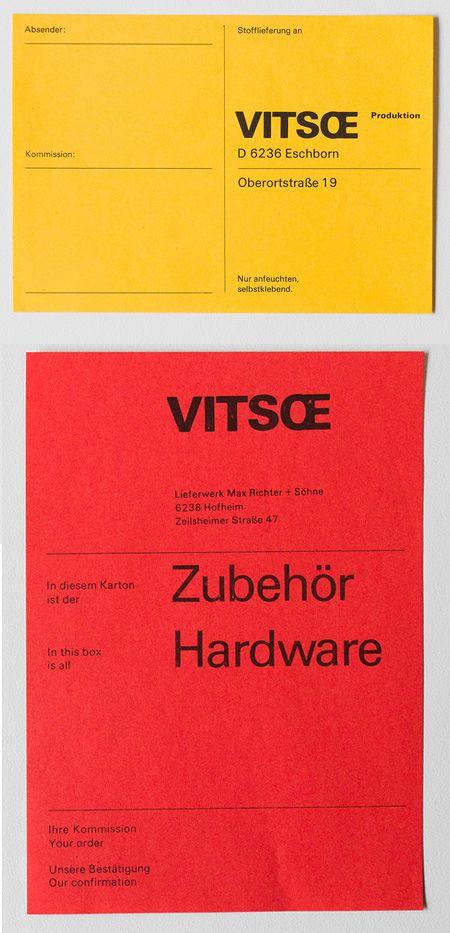 Vitsoe — Dieter Rams