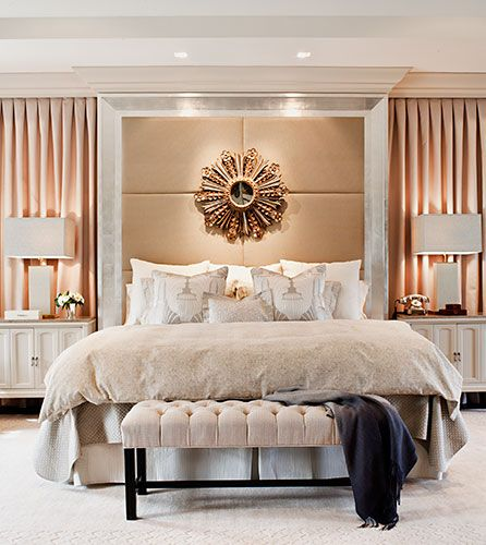 Modern Master Bedrooms: Make A Mirror Your Statement