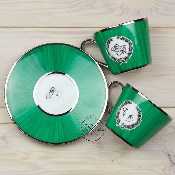 Special color mix, doble kilned, bone porcelain, platinum strikes Order instagram.com/platemade @platemade #platemade #dish #cup #mug