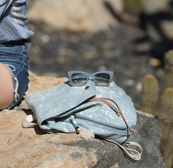 Be a stylish traveller> wear a #TOMS backpack!