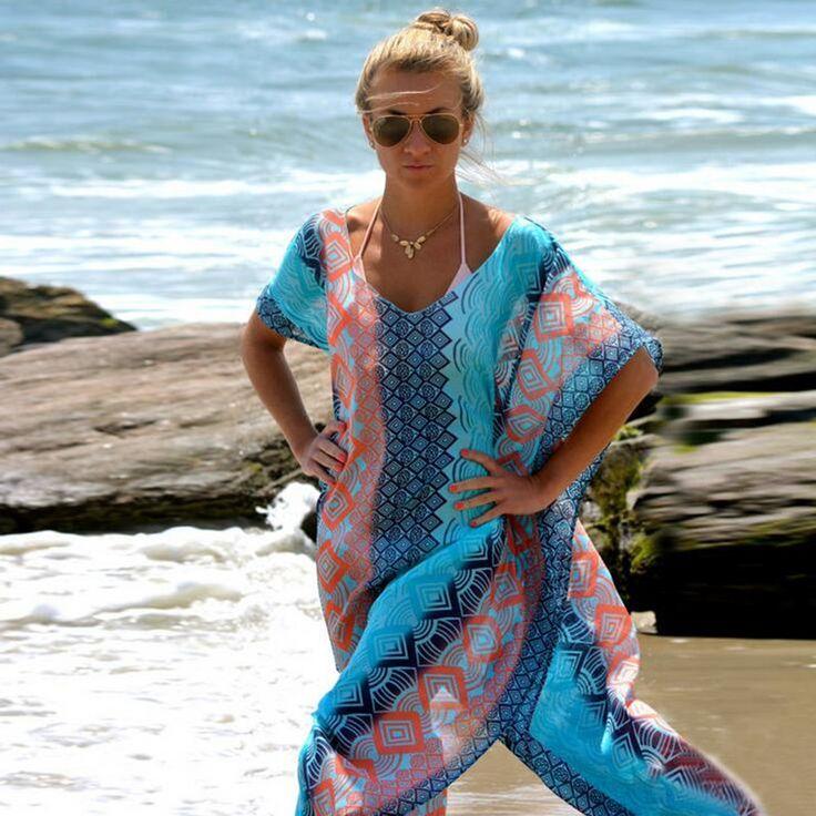 Купить товар 2016 пляж платье кафтан пляж саронги сексуальный прикрытие шифон бикини купальники туника купальник купальный костюм сокрытия парео G в категории Пляжные накидки на AliExpress. New In 2016 Summer Dress Sexy Backless Mini Dress Lace Straps Sleeveless V-neck Fashion Beach Dress Beach Cover Up Robe
