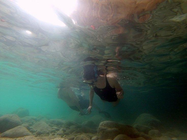 Snorkeling moment Zakynthos