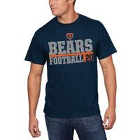 Chicago Bears One Handed Grab NFL T-Shirt: The One Handed Grab Tee by Majestic features: - 100% cotton… #Sport #Football #Rugby #IceHockey