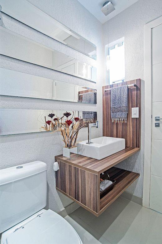 20 Badezimmer, die klein, modern und wunderschön sind   homify   homify   Badezimmer dekor ...