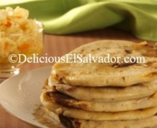 Curtido and Pupusas de Queso (Cheese-Filled Pupusas) - my favorite #Salvadoran…