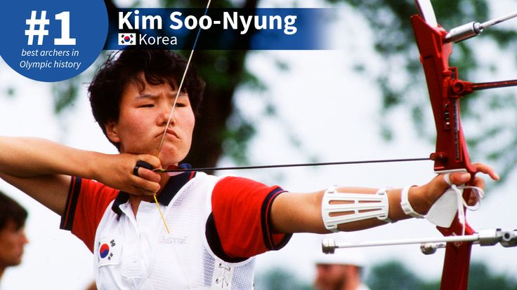 Best #Olympic Archers of All-Time: #1 Kim Soo-Nyung