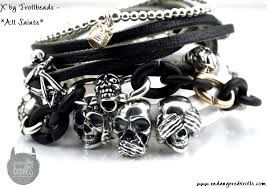 trollbeads leather bracelet inspiration - Google Search