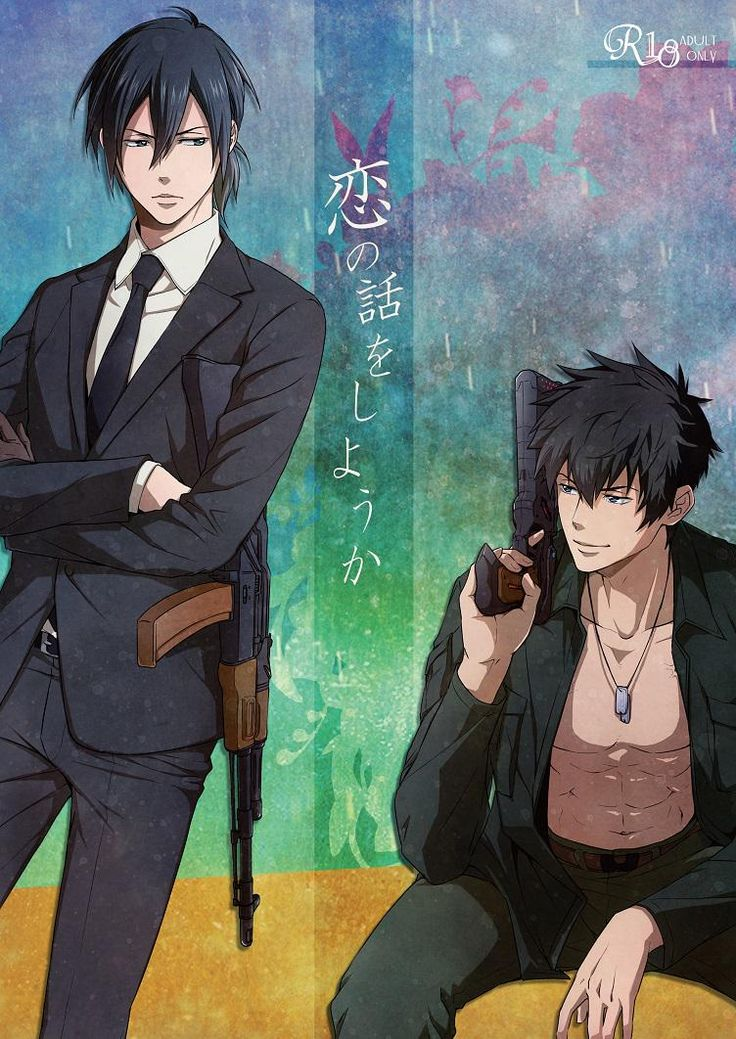Psycho Pass Ginoza and Kogami Damn, they are soooooo SEXY!!!❤️❤️❤️