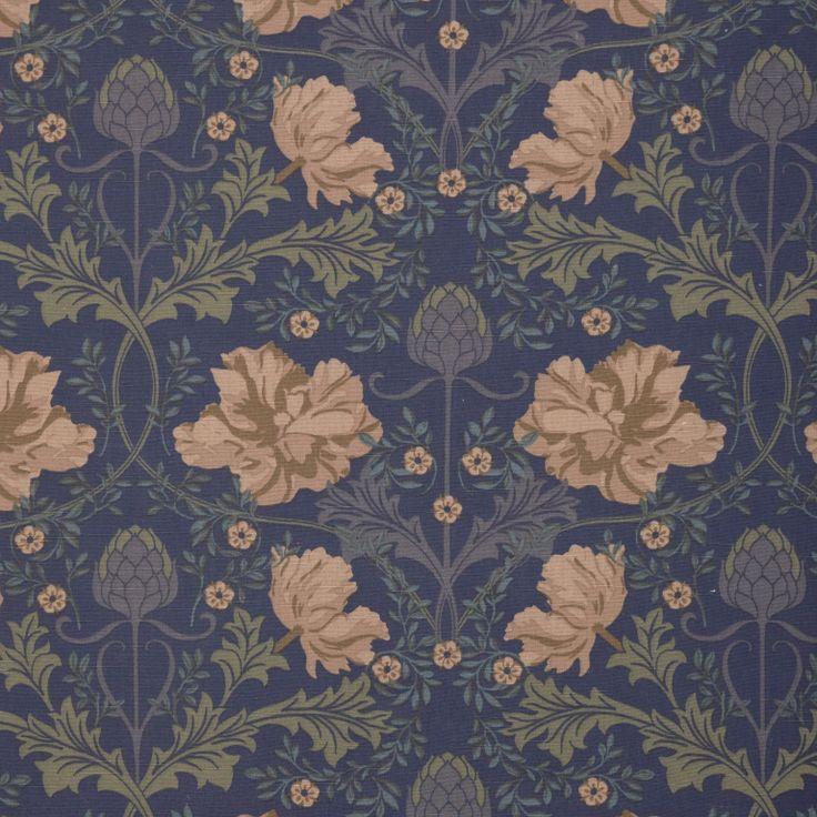 Autumn Tulip fabric