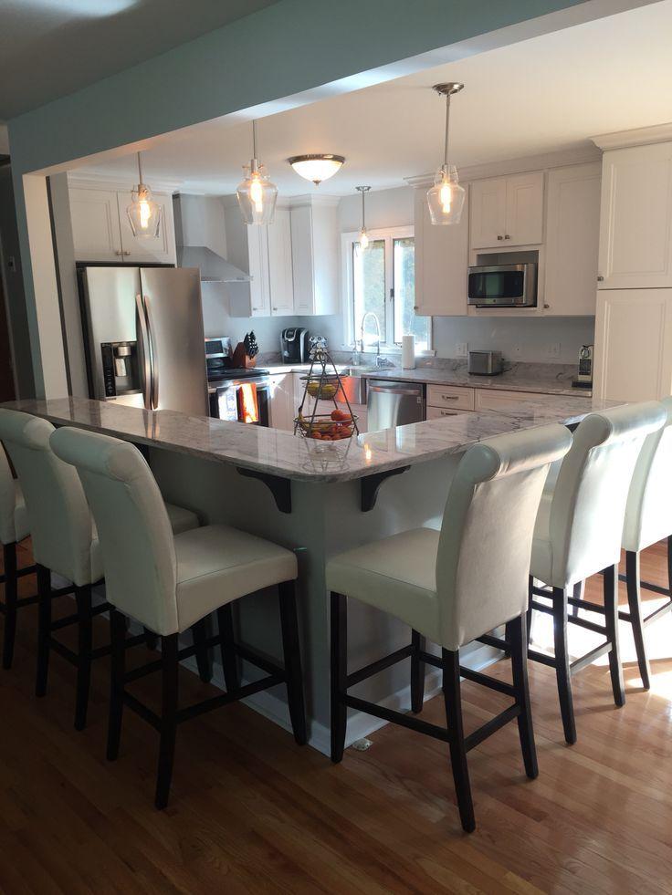 Raised ranch open kitchen | House | Pinterest | Open Kitchens ...