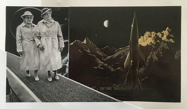 Markus Boesch / Collage 12 cm x 22 cm
