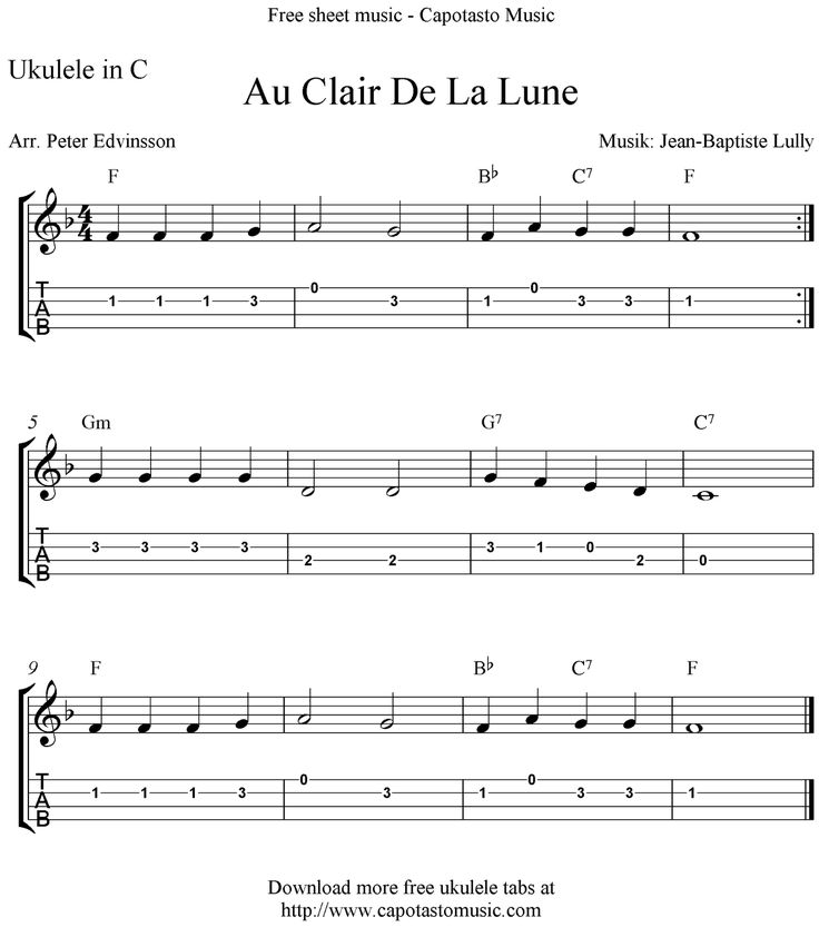 45 Best Sheet Music And Tabs Of Epicness Images On: 52 Best Ukulele Fingerpicking Patterns Images On Pinterest