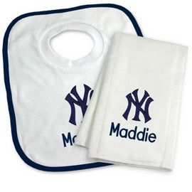 8 best new york yankees baby gifts images on pinterest big kids anaheim angels personalized bib and burp cloth gift set la angels of anaheim at designs by chad jake personalized baby gifts negle Choice Image