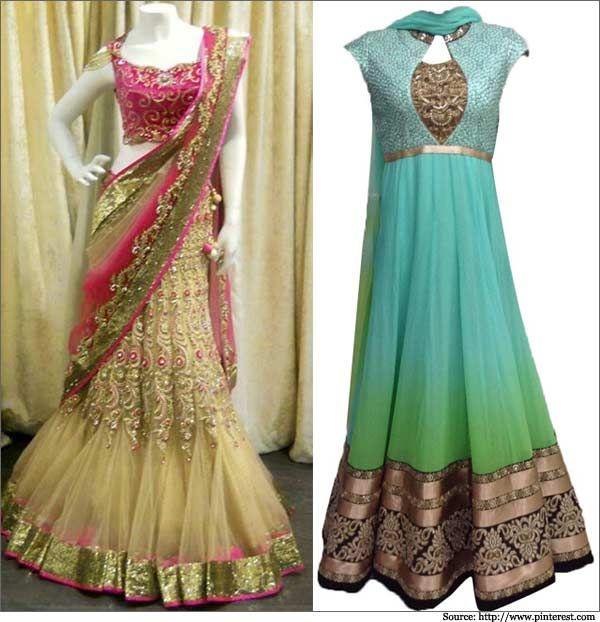Indian Wedding Dress - Bridal Dresses, Lehenga & Sarees