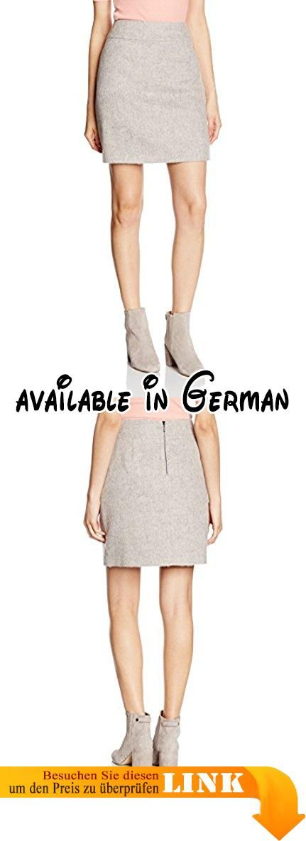 Comma Damen Rock 81.610.78.5447, Grau (Light Grey Melange 9103), 44. Bleistift #Apparel #SKIRT