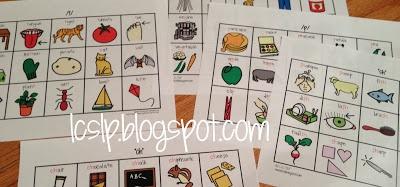 Preschool-Vocabulary-Friendly Articulation Worksheets from L.C., SLP