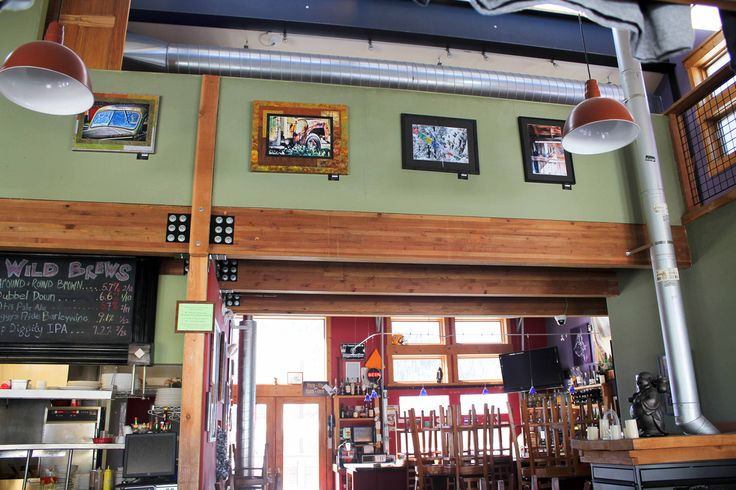 brewpub - Google Search.  like the colors and wood accents.  lights arent' too bad.