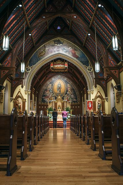 Chapel of the Immaculate Conception by Seton Hall University, via Flickr