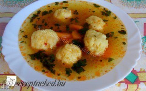 Gölödin leves recept fotóval