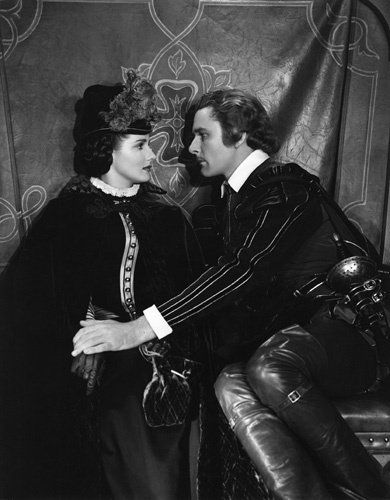 """The Sea Hawk"" Brenda Marshall, Errol Flynn 1940 Warner Brothers"